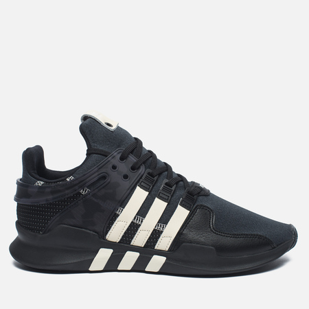 Мужские кроссовки adidas Consortium x Undefeated EQT Support ADV Core Black/Cream White/Dark Grey