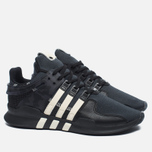 Мужские кроссовки adidas Consortium x Undefeated EQT Support ADV Core Black/Cream White/Dark Grey фото- 1