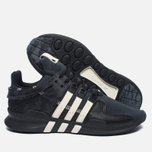 Мужские кроссовки adidas Consortium x Undefeated EQT Support ADV Core Black/Cream White/Dark Grey фото- 2