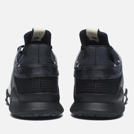 Мужские кроссовки adidas Consortium x Undefeated EQT Support ADV Core Black/Cream White/Dark Grey