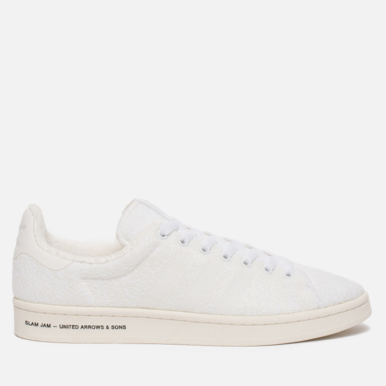 Мужские кроссовки adidas Consortium x United Arrows & Sons x Slam Jam Campus White
