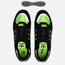 Мужские кроссовки adidas Consortium ZX 10.000 C Core Black/Solar Green/Reflective фото- 1