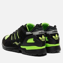 Мужские кроссовки adidas Consortium ZX 10.000 C Core Black/Solar Green/Reflective фото- 2