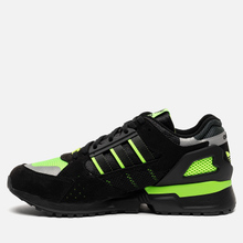 Мужские кроссовки adidas Consortium ZX 10.000 C Core Black/Solar Green/Reflective фото- 5