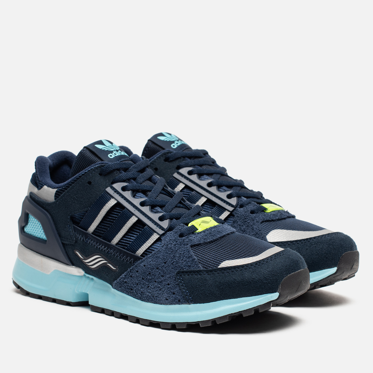 Мужские кроссовки adidas Consortium ZX 10.000 JC Collegiate Navy/Collegiate Navy/White