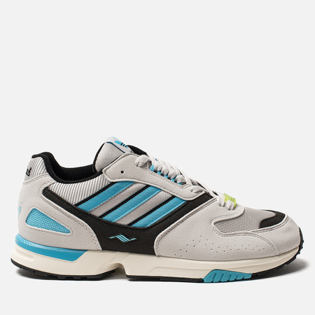 Мужские кроссовки adidas Consortium ZX 4000 OG Grey One/Core Black/Bright Cyan