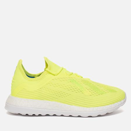Мужские кроссовки adidas Football X18+ Trainer Solar Yellow/Solar Yellow/Ice Yellow