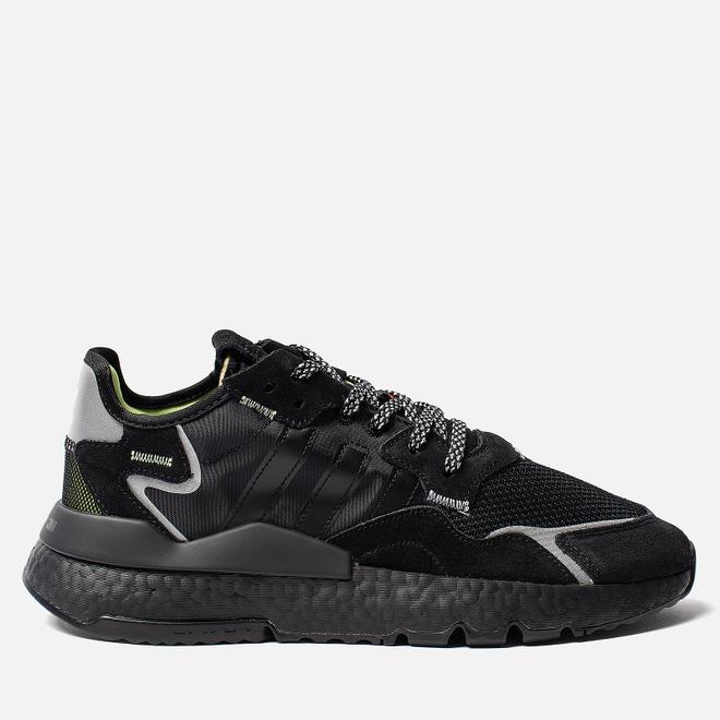 Мужские кроссовки adidas Originals x 3M Nite Jogger Core Black/Core Black/Core Black