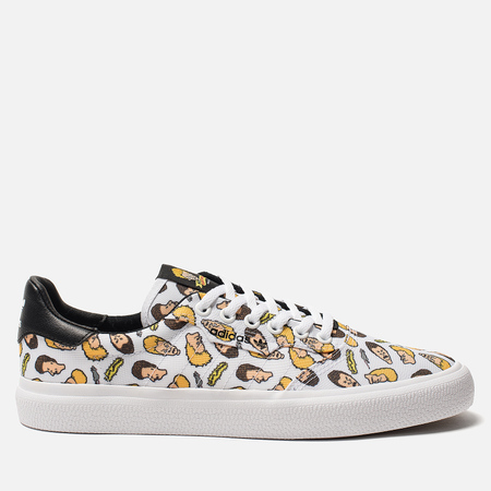 Мужские кроссовки adidas Originals 3MC Beavis And Butthead White/Core Black/White