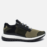 Мужские кроссовки adidas Consortium ADO Pure Boost ZG Day One Panton Green/Black фото- 0