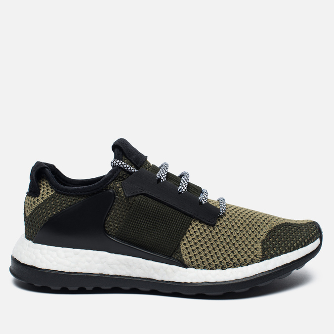Мужские кроссовки adidas Consortium ADO Pure Boost ZG Day One Panton Green/Black
