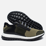 Мужские кроссовки adidas Consortium ADO Pure Boost ZG Day One Panton Green/Black фото- 2