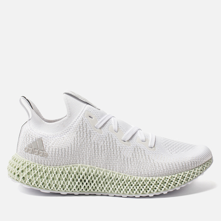 Мужские кроссовки adidas Originals Alphaedge 4D White/Grey Two/Linen Green