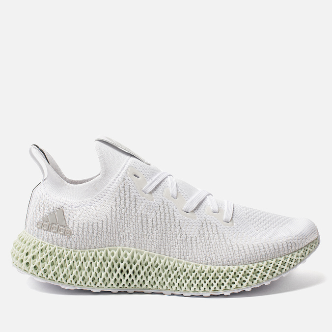 Мужские кроссовки adidas Originals Alphaedge 4D White/Grey Two/Linen Green