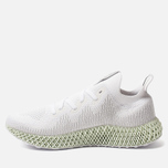 Мужские кроссовки adidas Originals Alphaedge 4D White/Grey Two/Linen Green фото- 1