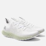 Мужские кроссовки adidas Originals Alphaedge 4D White/Grey Two/Linen Green фото- 2