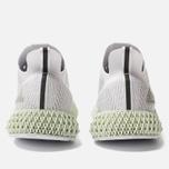 Мужские кроссовки adidas Originals Alphaedge 4D White/Grey Two/Linen Green фото- 4