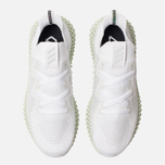 Мужские кроссовки adidas Originals Alphaedge 4D White/Grey Two/Linen Green фото- 5