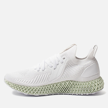 Мужские кроссовки adidas Performance Alphaedge 4D White/White/Carbon фото- 5