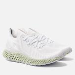 Мужские кроссовки adidas Performance Alphaedge 4D White/White/Carbon фото- 2