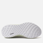 Мужские кроссовки adidas Performance Alphaedge 4D White/White/Carbon фото- 4