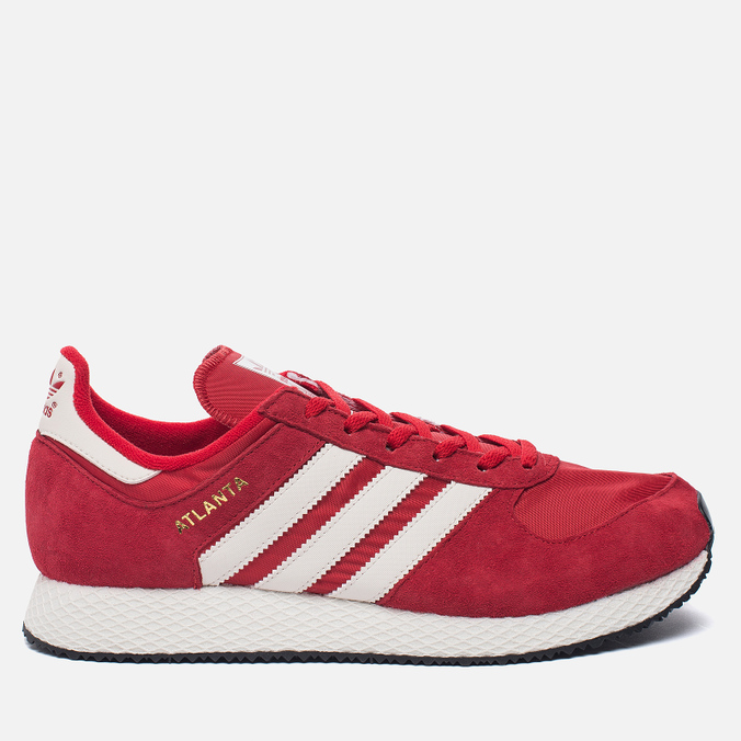 Мужские кроссовки adidas Originals Atlanta Spezial Scarlet/Chalk White/Gold Metallic