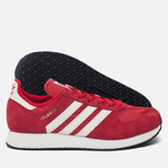 Мужские кроссовки adidas Originals Atlanta Spezial Scarlet/Chalk White/Gold Metallic фото- 2