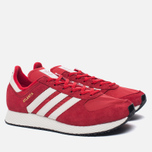 Мужские кроссовки adidas Originals Atlanta Spezial Scarlet/Chalk White/Gold Metallic фото- 1