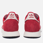 Мужские кроссовки adidas Originals Atlanta Spezial Scarlet/Chalk White/Gold Metallic фото- 4
