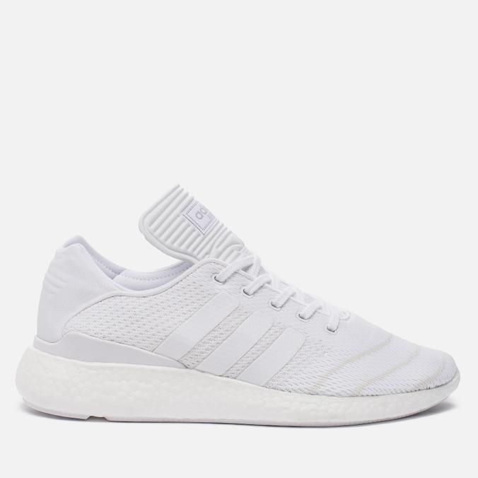 Мужские кроссовки adidas Originals Busenitz Pure Boost Triple White