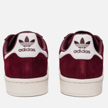Кроссовки adidas Originals Campus Collegiate Burgundy/White/Chalk White фото- 3