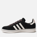 Мужские кроссовки adidas Originals x Forever Bicycle Campus Core Black/Grey One/Crystal White фото- 1