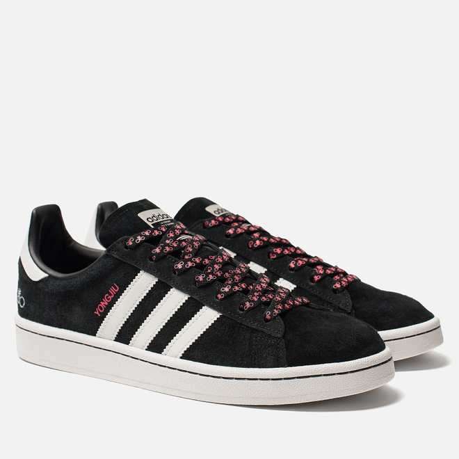 Мужские кроссовки adidas Originals x Forever Bicycle Campus Core Black/Grey One/Crystal White