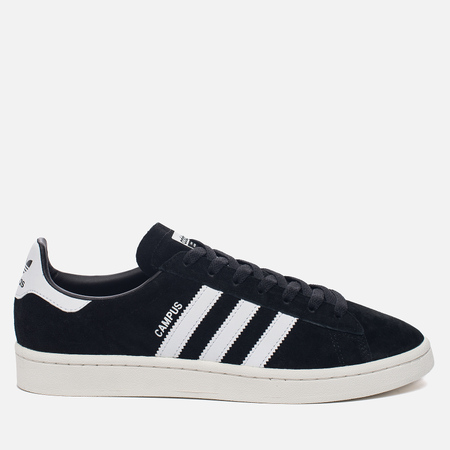 Мужские кроссовки adidas Originals Campus Core Black/Running White/Chalk White