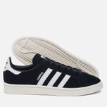 Кроссовки adidas Originals Campus Core Black/Running White/Chalk White фото- 2