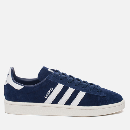 Мужские кроссовки adidas Originals Campus Dark Blue/Running White/Chalk White
