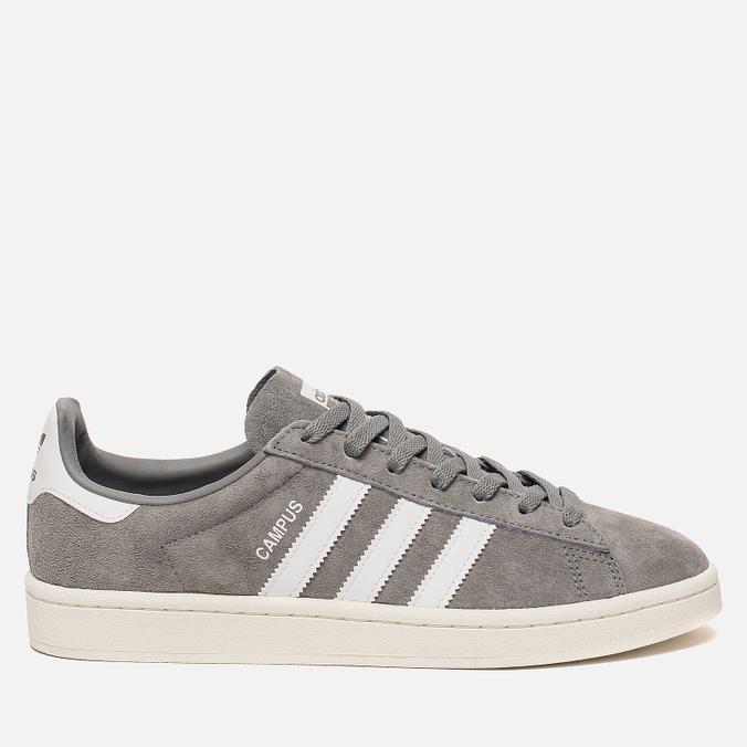 Мужские кроссовки adidas Originals Campus Grey/Running White/Chalk White