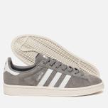 Мужские кроссовки adidas Originals Campus Grey/Running White/Chalk White фото- 2