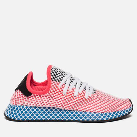 Кроссовки adidas Originals Deerupt Runner Solar Red/Solar Red/Blue Bird