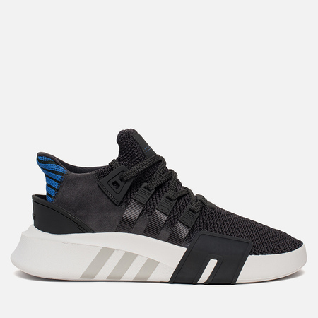 Мужские кроссовки adidas Originals EQT Bask ADV Carbon/Carbon/Collegiate Royal