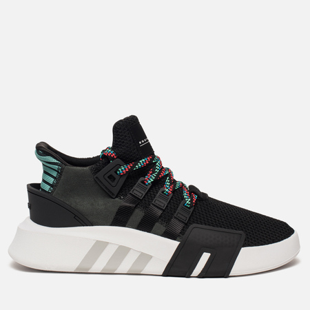 Кроссовки adidas Originals EQT Bask ADV Core Black/Core Black/Sub Green