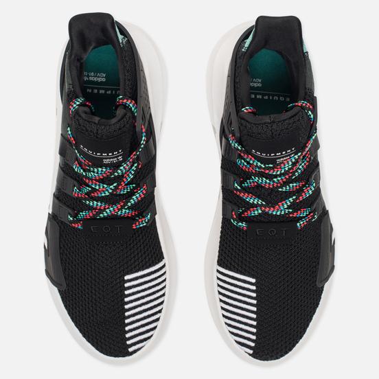 Кроссовки adidas Originals EQT Bask ADV Core Black/Core Black/Sub Green