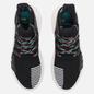 Кроссовки adidas Originals EQT Bask ADV Core Black/Core Black/Sub Green фото - 1