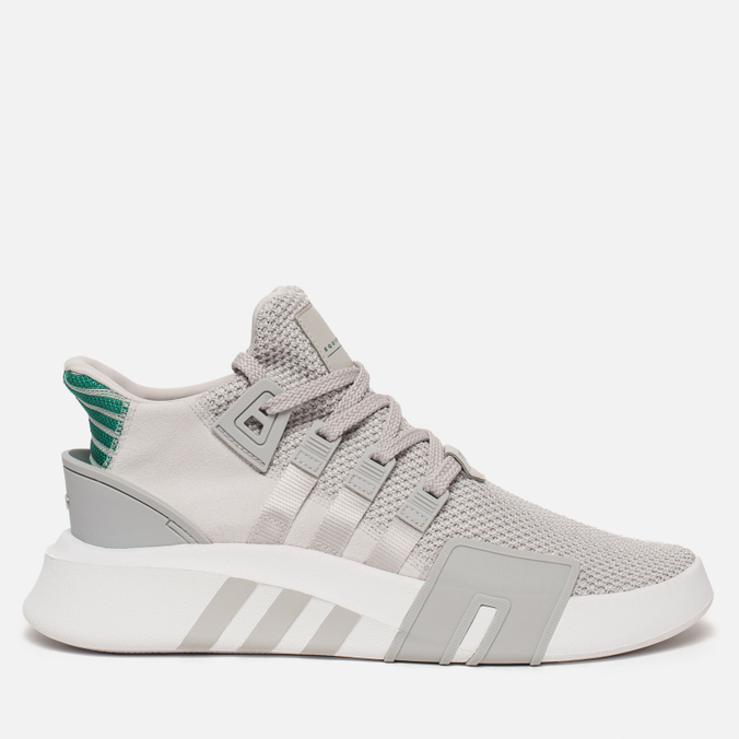 Мужские кроссовки adidas Originals EQT Bask ADV Grey One/Grey One/Sub Green