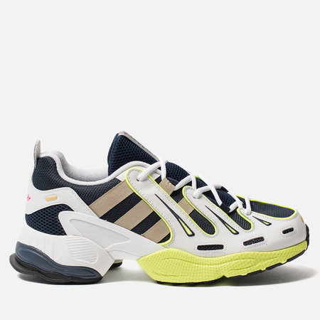 Кроссовки adidas Originals EQT Gazelle Collegiate Navy/Gold Metallic/Solar Yellow