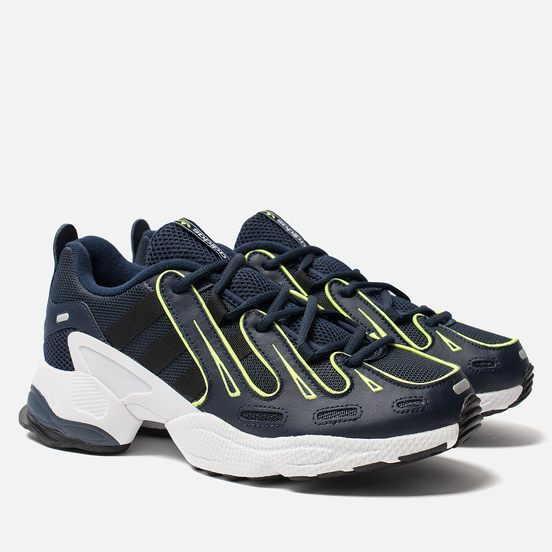 Кроссовки adidas Originals EQT Gazelle Collegiate Navy/Silver Metallic/Solar Yellow