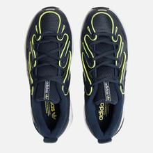 Кроссовки adidas Originals EQT Gazelle Collegiate Navy/Silver Metallic/Solar Yellow фото- 1