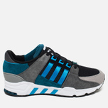 Мужские кроссовки adidas Originals EQT Running Support Blue/Grey/Black фото- 0