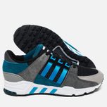 Мужские кроссовки adidas Originals EQT Running Support Blue/Grey/Black фото- 2