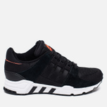 Кроссовки adidas Originals EQT Running Support Core Black/Running White фото- 0